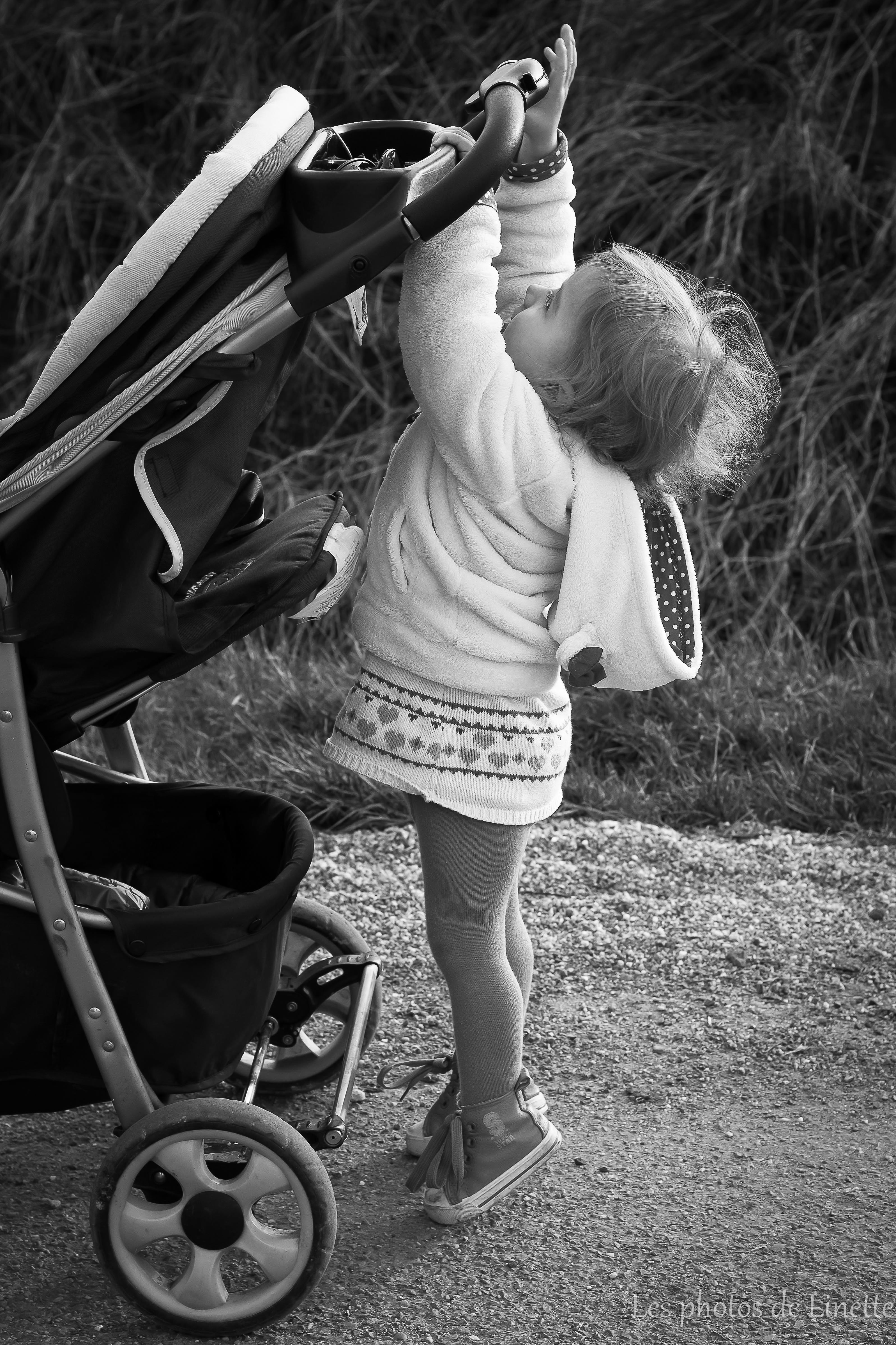 Bebe grandit poussette Linette Photographie
